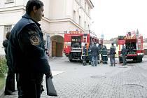 Taktické cvičení hasičů a dalších složek integrovaného záchranného systému ve znojemské věznici.