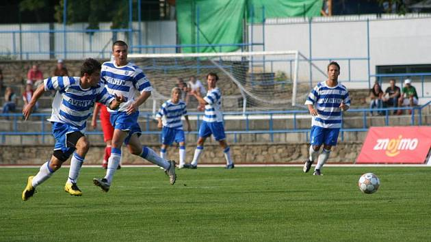 Vstup do nové sezony znojemským vyšel. Mužstvo z Líšně porazili 4:0.