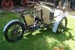 Sto čtrnáct let starý tricykl Laurin a Klement vystavilo po pěti letech oprav znojemské Muzeum motorismu.