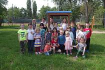 Děti z MŠ Jánského, třída Duha