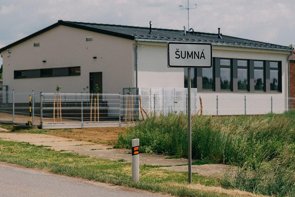 Nová základna jihomoravských záchranářů v obci Šumná na Znojemsku.