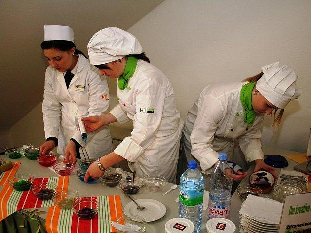 Den otevřených dvěří v hotelové škole v Retzu - ilustrační foto.