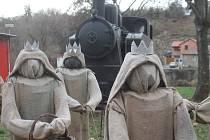 Tradiční betlém připravili i pro letošní Advent obyvatelé Dyjské vsi ve Znojmě.
