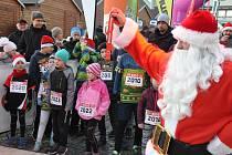 Ve Znojmě se o víkendu běžel první Wobenzym Christmas Night Run.