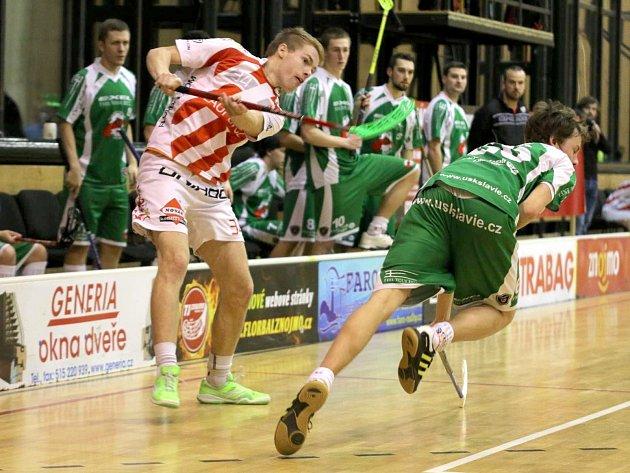 Znojemští hráči se prali o body s Ústím nad Labem. Marně.
