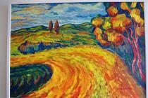 Výstavu Krajiny malíře Jiřího A. Havlína nabízí v těchto dnech znojemský Dům umění.