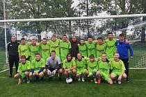 A-tým FK Znojmo drží v tabulce I. B třídy třetí místo.