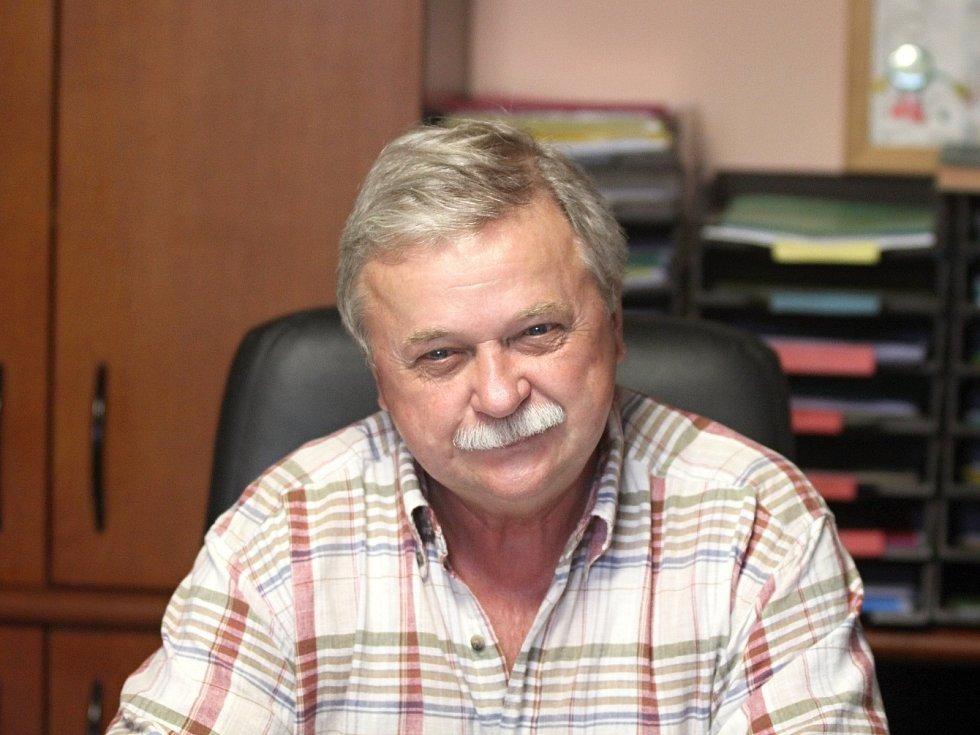 Jan Vašina je předsedou tasovického fotbalu už dvě desítky let.