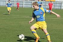 Fotbalisté Tasovic vydřeli první jarní body. Porazili Třebíč 2:1.