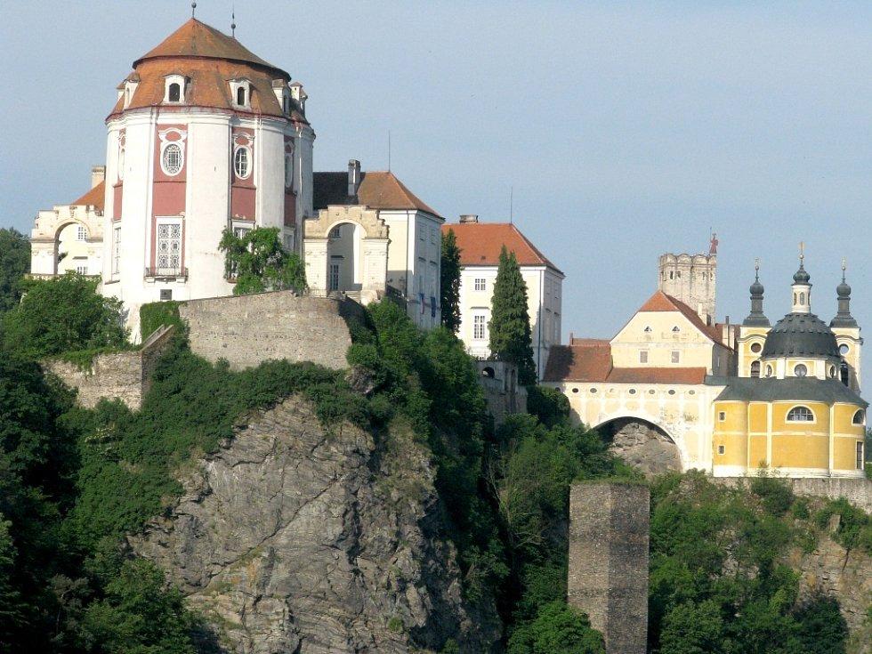 Zámek ve Vranově nad Dyjí. Ilustrační foto.