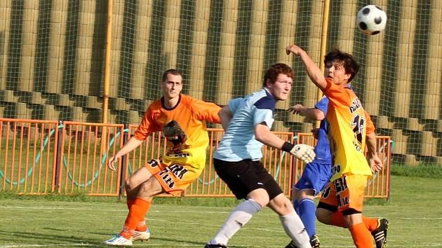 Fotbalisté IE Znojmo remizovali s Kyjovem 0:0.