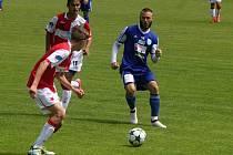 V Moravskoslezské lize staršího dorostu remizovalo 1.SC Znojmo FK - SK Hanácká Slavia Kroměříž 0:0 a sestoupilo do nižší soutěže.