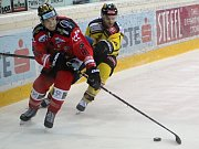 Hokejisté Znojma drží v EBEL neporazitelnost.