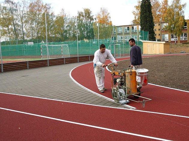 Kravsko buduje sportoviště za jedenáct milionů korun.