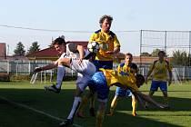 Fotbalisté Tasovic remizovali na závěr sezony s Vrchovinou 2:2