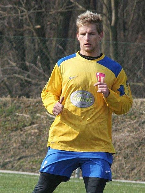 Fotbalista Lukáš Čerstvý.