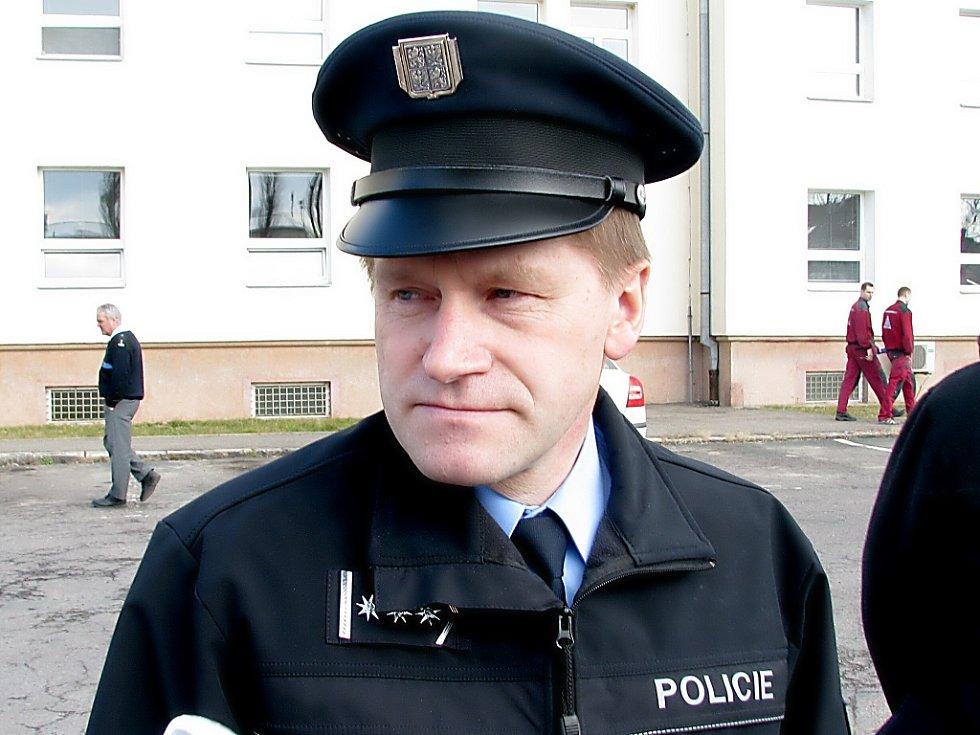 Policejní důstojník Mojmír Pavelka
