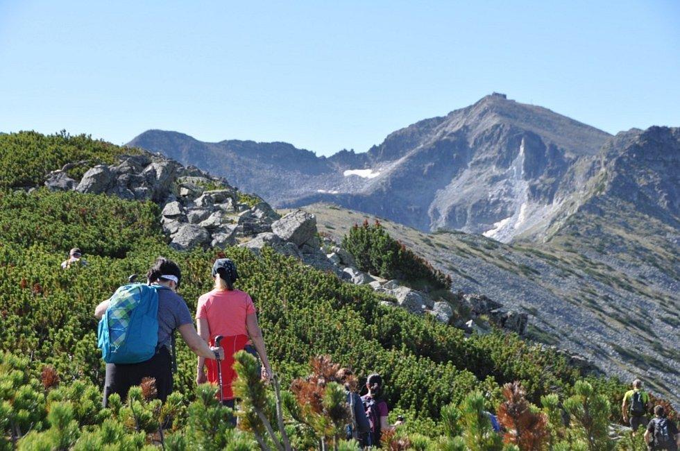 Z výpravy na nejvyšší horu Bulharska, Musalu.