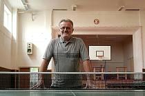 Trenér znojemských stolních tenistů Jiří Chalupník.