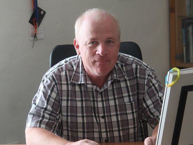 Ředitel znojemské Charity Evžen Adámek.