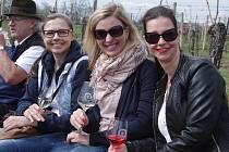 Projít stezku mezi vinicemi a ochutnat vína místních vinařů přišlo do Vrbovce několik set návštěvníků.