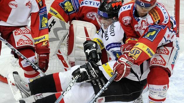HC Slavia Praha - HC Znojemští Orli, 26. kolo, Praha O2 Aréna.