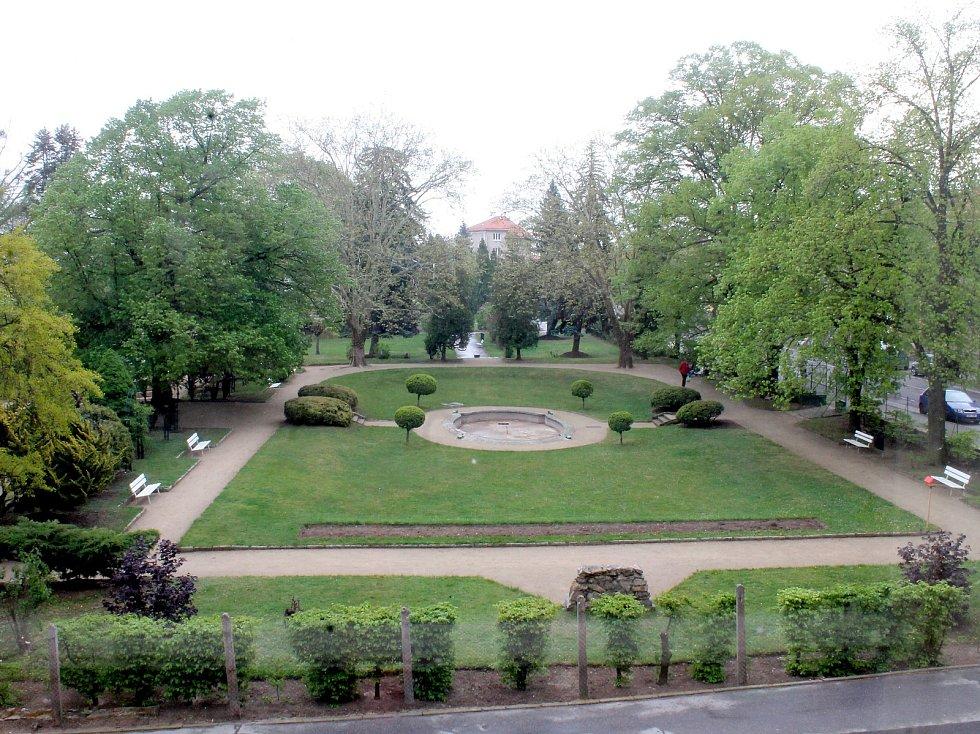 Jubilejní park ve Znojmě. Ilustrační foto.