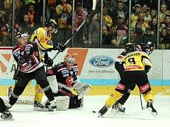 Znojemským hokejistům se podařilo zdolat Vídeň na jejím ledě.