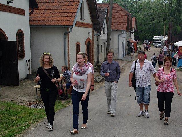 Stovky návštěvníků přilákaly v sobotu vrbovecké vinařské skepy. Místní cech vinařů totiž uspořádal premiérový den otevřených sklepů. Zapojilo se jednatřicet vinařů.