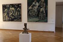 Zámek v Moravském Krumlově hostí novou dlouhodobou expozici ze sbírek Jana a Medy Mládkových z Musea Kampa a sezonní výstavu ilustrací Zdeňka Buriana.