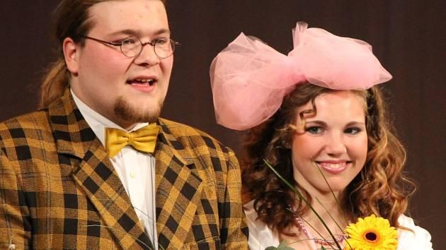 Herci z divadleního spolku Rotunda sklidili velké ovace.