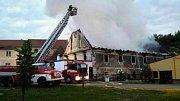Památkově chráněný  mlýn ve Vranově nad Dyjí shořel začátkem června.