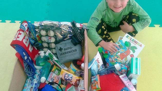 Znojemský Mini klub zorganizoval sbírku na pomoc bezdomovcům.