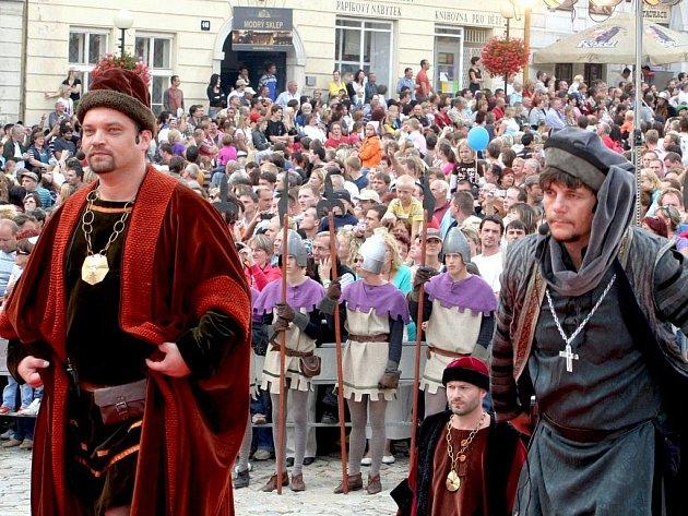 Znojemské historické vinobraní 2009