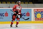 Forvard hokejistů Znojma Anthony Luciani strávil na zkušené v extraligové Kometě Brno tři zápasy.