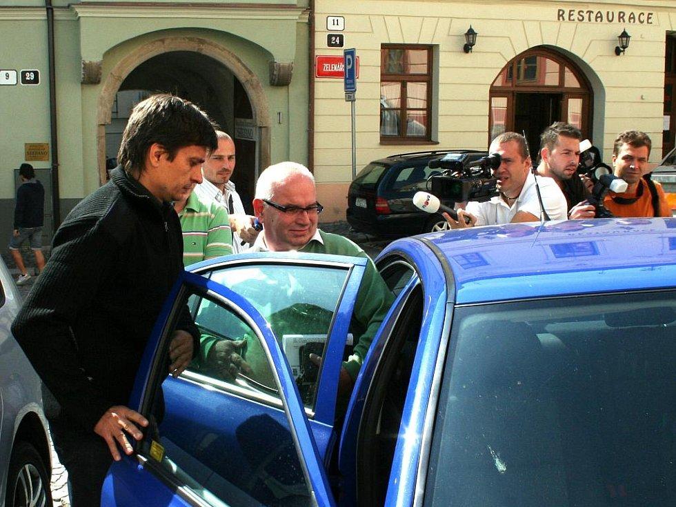 Bývalý tajemník znojemské radnice Vladimír Krejčíř.