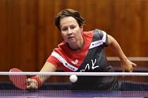 Stolní tenistka Renáta Štrbíková hraje za extraligové družstvo TT Moravský Krumlov.