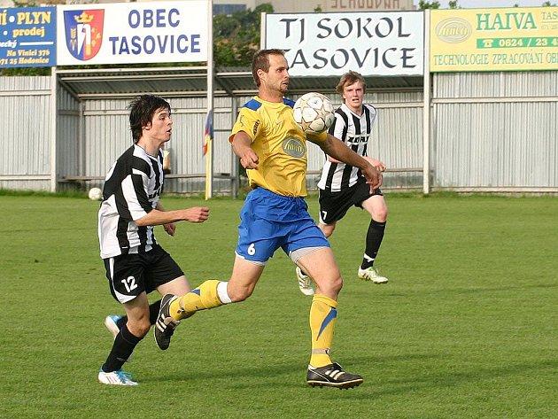 Fotbalisté Tasovic porazili hráče Žďáru nad Sázavou 3:1.
