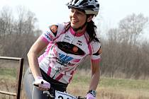 Znojemská cyklistka Andrea Vojtěchová.