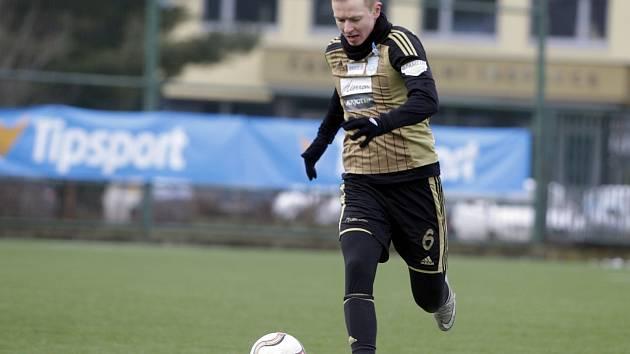 Jedna z posil fotbalistů Znojma Petr Vavřík.