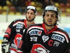 Orli Znojmo vs. KHL Záhřeb.