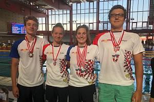 Plavci znojemské Tělovýchovné jednoty zaznamenali o prvním červnovém víkendu úspěchy na mezinárodních závodech ve Vídni. Na Vienna International SwinMeetu vybojovali dohromady dvanáct cenných kovů.