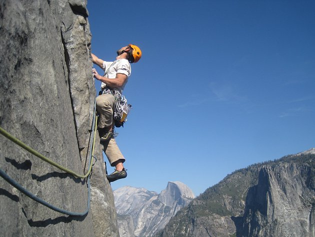 Výstup na El Capitan.