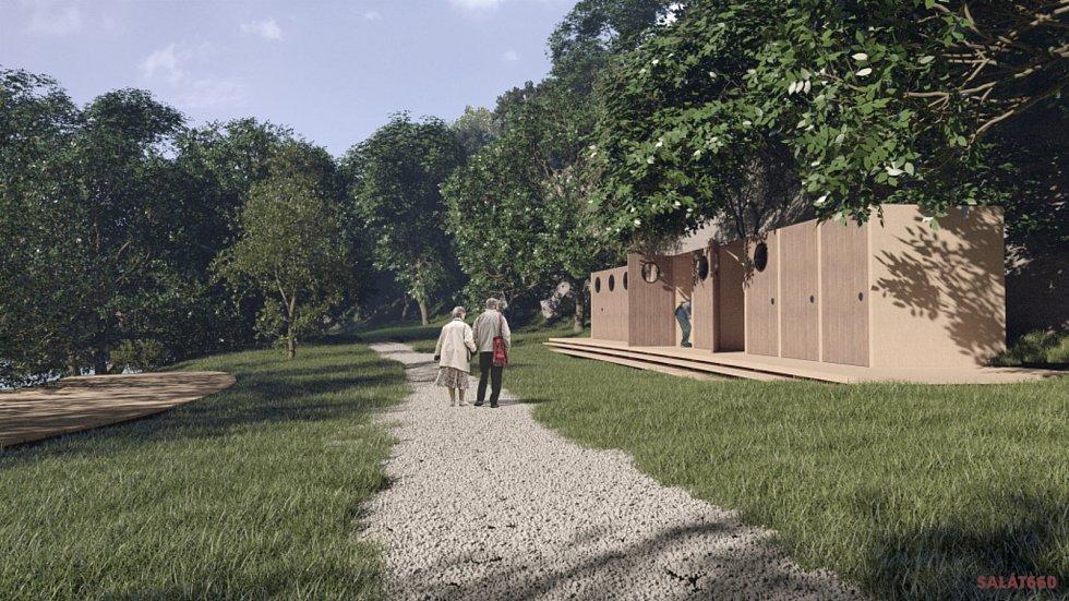 Jeden z úspěšných projektů Tvoříme Znojmo změní část nábřeží Dyje u Louckého kláštera.