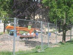 Dolní park je nyní pro veřejnost z velké části uzavřen.