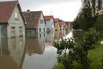 Znojmo zasáhly ničivé povodně v roce 2002.