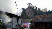 Památkově chráněný  mlýn ve Vranově nad Dyjí shořel začátkem června. Foto: Archiv Hasičského záchranného sboru Jihomoravského kraje