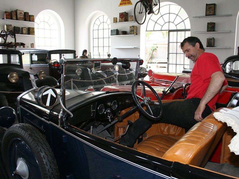První soukromé motoristické muzeum ve Znojmě