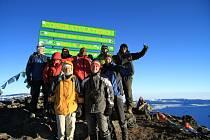 Z cesty do Afriky a na vrchol Kilimandžára.