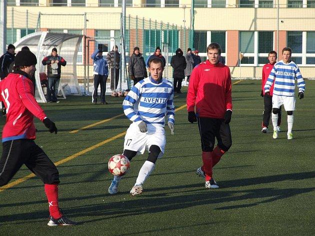 Znojmo se v Třebíči prezentovalo útočnou hrou.
